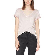 G-STAR RAW Damen T-Shirt NOLA Granddad T Wmn S/S, Rosa (Lt Berry Mist 8147), X-Small