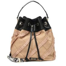 Bucket-Bag Juno aus Raffiabast