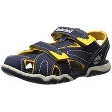 Timberland Active Casual Sandal FTK_Adventure Seeker Closed Toe Sandal, Unisex-Kinder Sandalen, Blau (BLUE), 37 EU