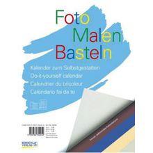 Buch - Foto, Malen, Basteln, bunter Karton (30 x 21 cm)
