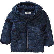 NAME IT Winterjacke NITMIT für Jungen blau / ultramarinblau