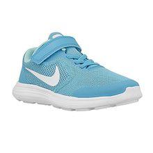 Nike Revolution 3 (PSV) 819417 405 Mädchen Klettverschluss/Slipper Halbschuh