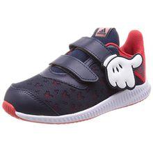 adidas Unisex Baby DY Mickey FortaRun Cloudfoam Sneaker, Rot (Scarle/Vivred/Ftwwht), 26 EU