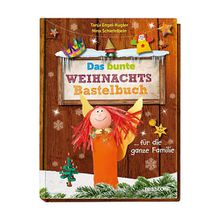Buch - Das bunte Weihnachts-Bastelbuch ... die ganze Familie  Kinder
