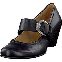 Gabor Damenschuhe Fashion 05.458.27 Damen Pumps mit gratis Gabor Socken schwarz, EU 36