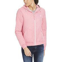 Bench Damen Jacke Light Padded Windbreaker, Rosa (Chateau Rose Pk052), Small