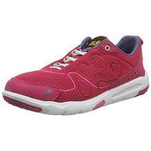 Jack Wolfskin Monterey Ride Low W, Damen Sneakers, Pink (Azalea Red 2081), 38 EU (5 Damen UK)