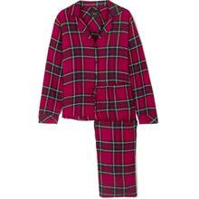 Rails - Pyjama Aus Kariertem Flanell - Rot