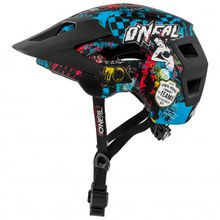 O'Neal - Defender 2.0 Helmet - Radhelm Gr L - XL;XS - M rot/schwarz;grau;grau/schwarz;schwarz;türkis/grün/schwarz;schwarz/grün