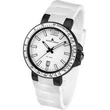Jacques Lemans Uhr 'Milano' schwarz / weiß