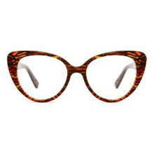 VIU - The Lady Brille für Damen mit modernem, Butterfly Gestell in Warm Mosaic