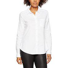 Brax Damen Bluse Victoria, Weiß (White 99), 40
