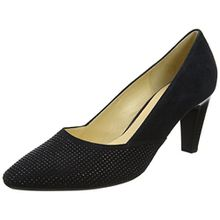 Gabor Shoes Damen Basic Pumps, Blau (16 Pazifik), 36 EU