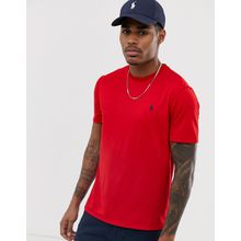 Polo Ralph Lauren - Performance - T-Shirt in Rot mit Spieler-Logo - Rot