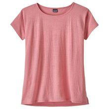 Patagonia - Women's Trail Harbor Tee - T-Shirt Gr L rot/rosa