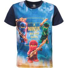 LEGO WEAR T-Shirt blau / mischfarben