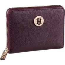 Tommy Hilfiger Geldbörse TH Core Compact ZA Wallet 6135 Cabernet