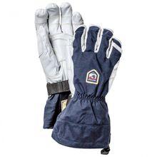 Hestra - Army Leather Heli Ski Ergo Grip 5 Finger - Handschuhe Gr 7 blau/grau/schwarz