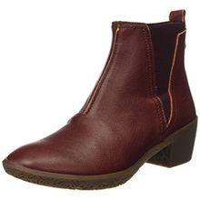 El Naturalista Damen Ng13 Capretto Alhambra Chelsea Boots, Rot (Adobe), 41 EU