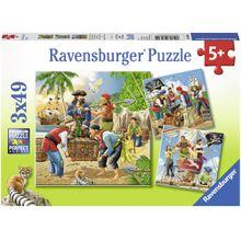 Ravensburger 3 X 49 Teile Abenteuer auf hoher See