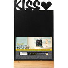 Tischkreidetafel Kiss 34 x 21 cm  inkl. Kreidemarker