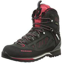 Mammut Damen Alto High GTX Trekking-& Wanderstiefel, Grau (Graphite-Light Carmine), 38 EU