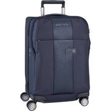 Piquadro Trolley + Koffer Brief 4732 Blu (47 Liter)