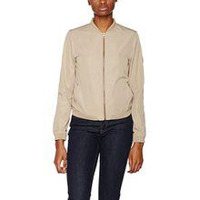 Calvin Klein Jeans Damen Jacke Owra Bomber Jacket, Grün (Chinchilla 029), 40 (Herstellergröße: L)