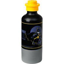 LEGO Trinkflasche Batman, 350 ml schwarz Junge