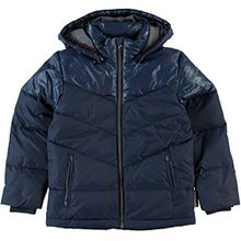 Name it Jungen Daunenjacke Winterjacke dunkelblau Moll kids, Größe:140;Farbe:dress blues