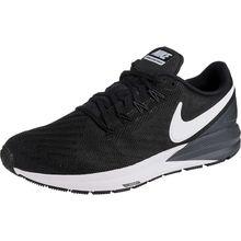 Nike Performance Air Zoom Structure 22 Laufschuhe schwarz/weiß Herren