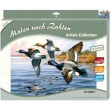 Malen nach Zahlen Artists Collection groß Enten