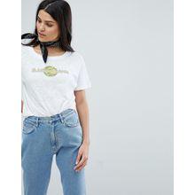 Mih Jeans - T-Shirt mit Logo - Weiß
