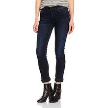 Cross Jeans Damen Jeanshose Anya, Blau (Blue Black 098), W33/L36 (Herstellergröße: 33.0)