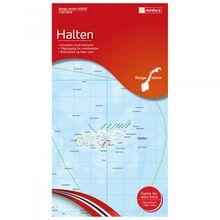 Nordeca - Wander-Outdoorkarte: Halten 1/50 - Wanderkarte Auflage 2012