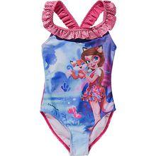Enchantimals Kinder Badeanzug pink Mädchen Kleinkinder