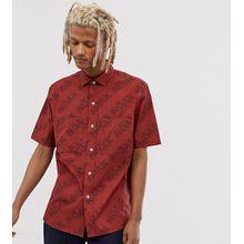 Noak – Hemd mit aufgesetzten Taschen-Rot