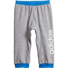 ADIDAS PERFORMANCE Jogginghose 'Lin Pant' blau / graumeliert / weiß