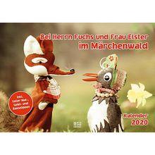 Buch - Bei Herrn Fuchs und Frau Elster im Märchenwald 2020, Kalender