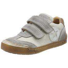 Bisgaard Unisex-Kinder Klettschuhe Sneaker, Grau (Grey), 31 EU