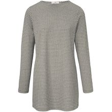Peter Hahn Shirt grau / weiß