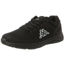 Kappa Unisex-Erwachsene Trust Sneaker, Schwarz (1111 Black), 43 EU