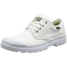Palladium Unisex-Erwachsene Pampa Oxford Originale Sneaker, Weiß (White/White 924), 45 EU