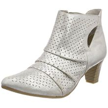 GERRY WEBER Shoes Damen Lena 12 Stiefeletten, Silber (Silber), 39 EU