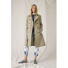 CLOSED Closed x Girbaud Trenchcoat greeny beige