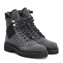 Ankle Boots Jared aus Denim