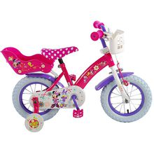 Disney Minnie Bow-Tique Kinderfahrrad 12 Zoll rosa/lila