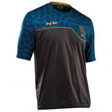 Northwave - Enduro Jersey Short Sleeve MTB - Radtrikot Gr 3XL;4XL;L;M;S;XL;XXL blau/schwarz;schwarz/blau;rot/schwarz/braun;schwarz;rot/schwarz/grau