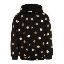 NAME IT Sweatshirt gold / schwarz