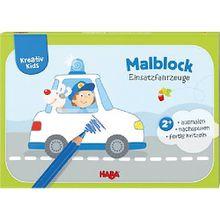 Buch - Kreativ Kids: Malblock Einsatzfahrzeuge
